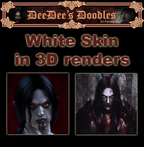 white skin for undead renders