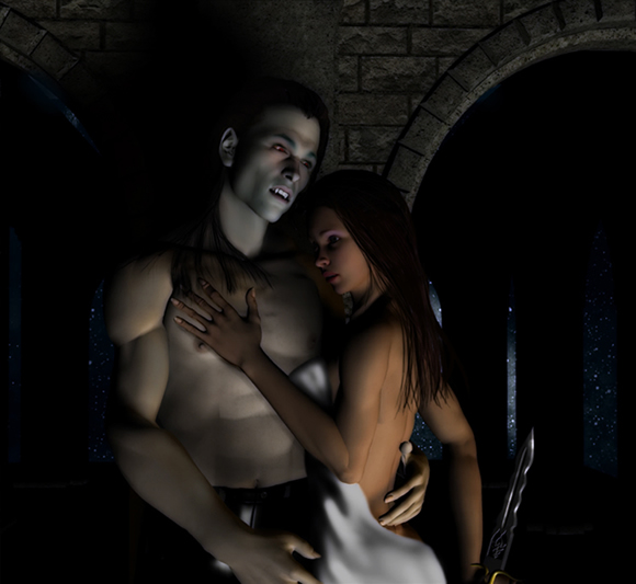 Bound By A Vampire