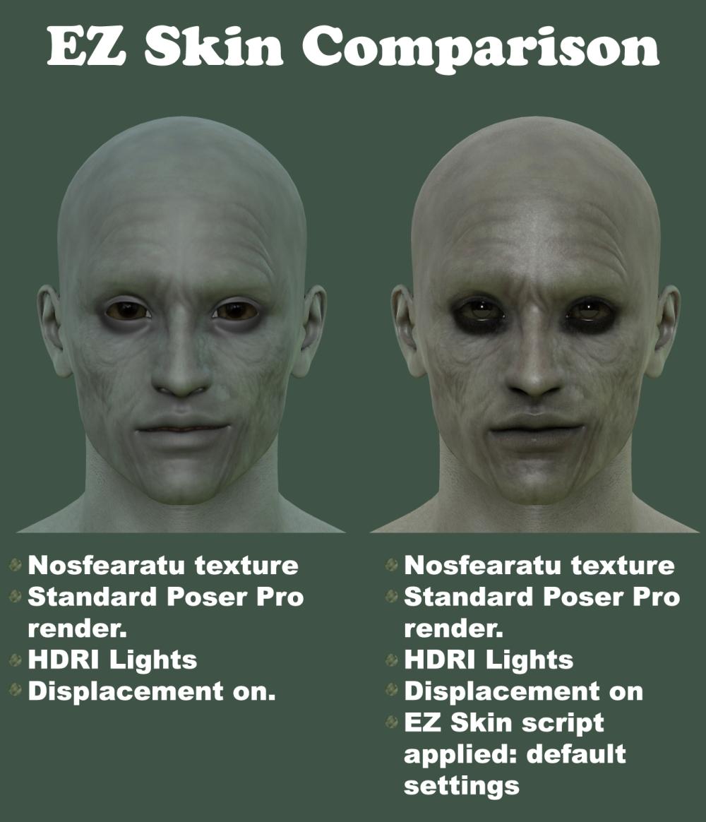 EZ Skin comparison