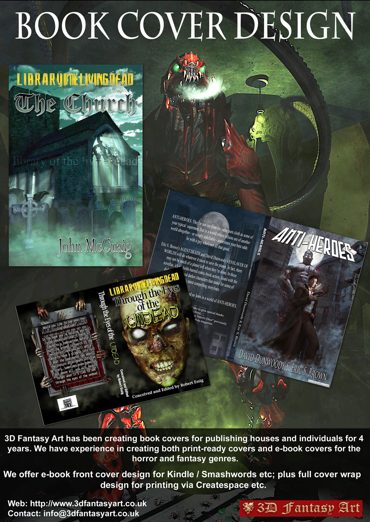 Book Cover Layout Uk : Custom book cover design d fantasy art