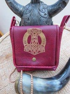 mjolnir leather bag